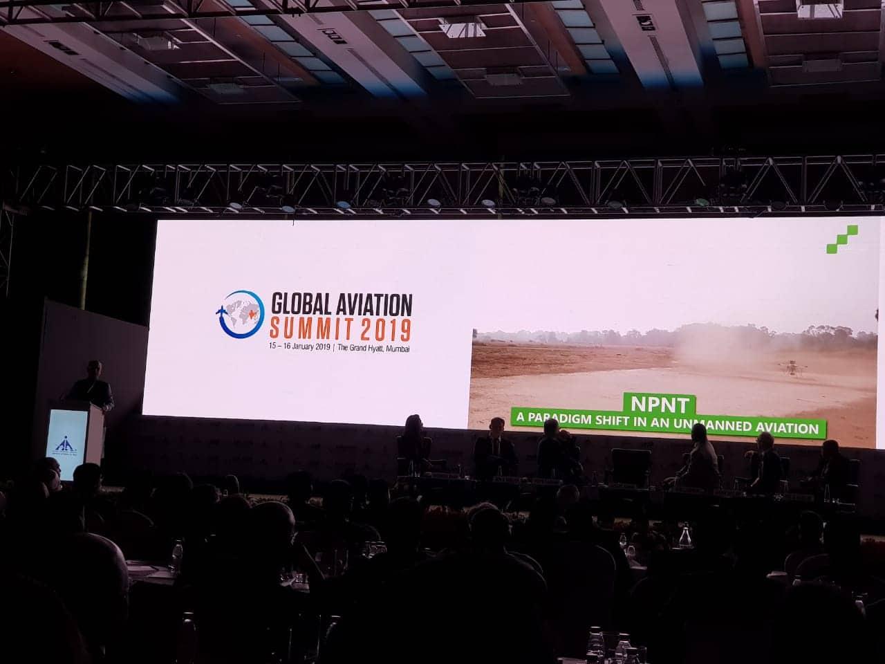 ideaForge-npnt-global-aviation-summit