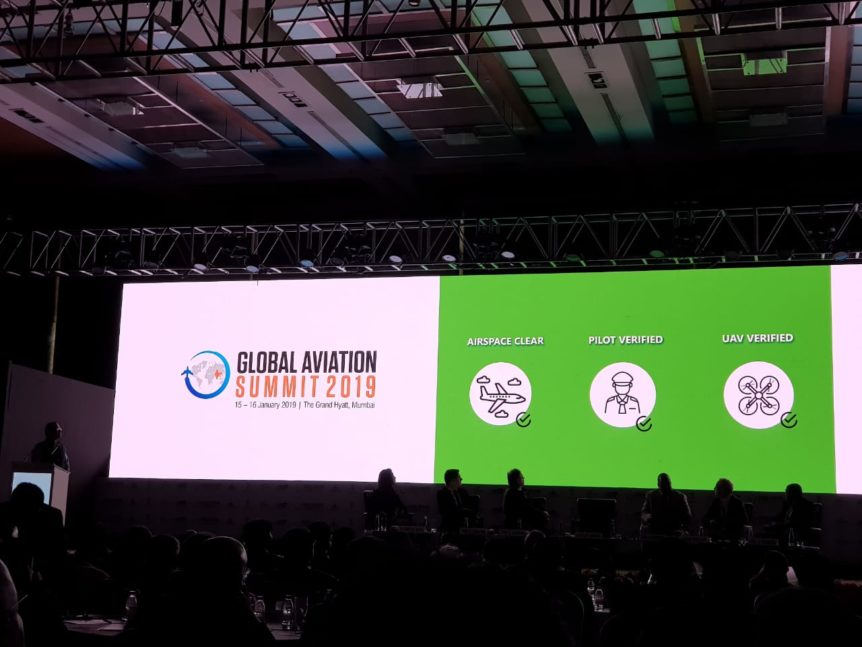 ideaForge-npnt-global-aviation-summit-2019
