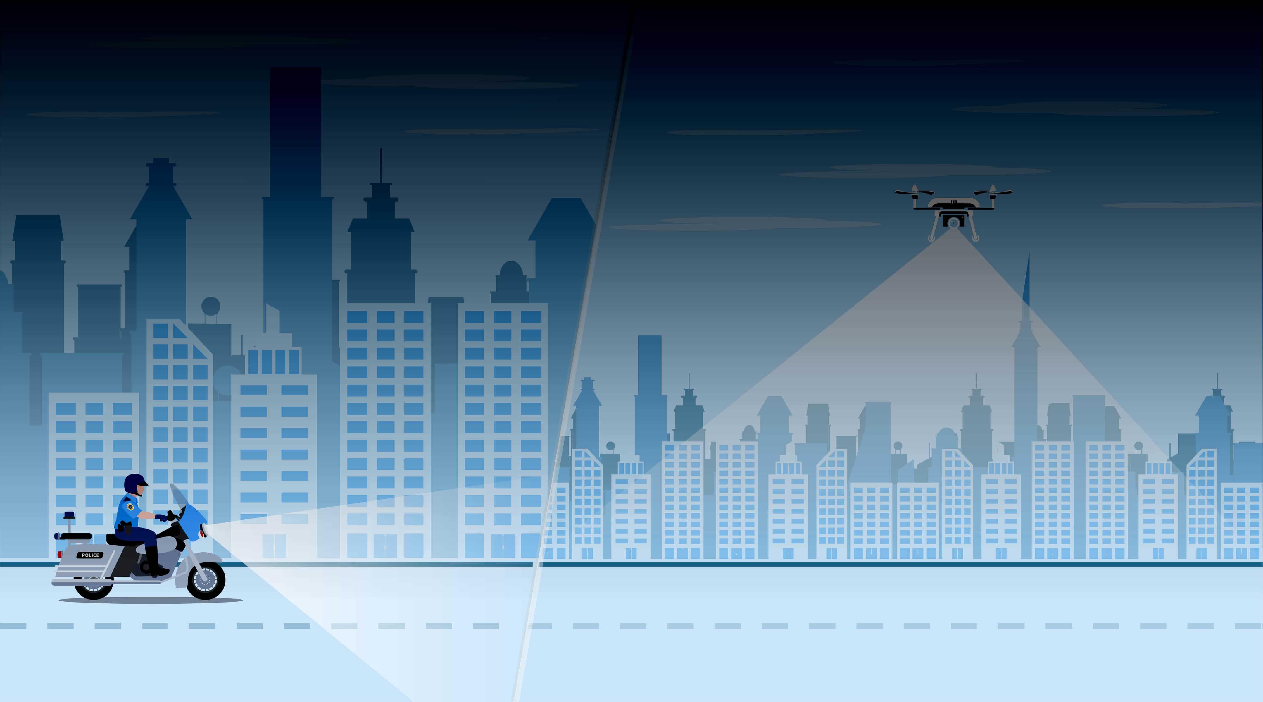 Drones Make Law Enforcement 5 Times More Efficient