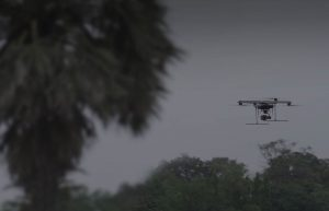 Drones enforce social distancing in Covid-19 hotspots