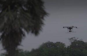 Drones enforce social distancing in Covid-19 hotspots